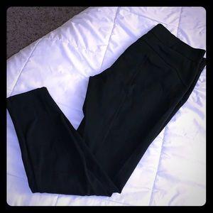 NWOT Vera Wang Skinny Black Ponte Pants Legging L